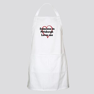 Loves me: Pittsburgh BBQ Apron