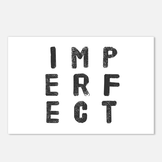 Imperfect (Stamp) Postcards (Package of 8)