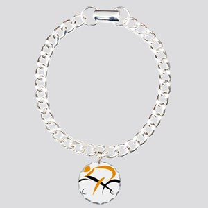 cycling Charm Bracelet, One Charm