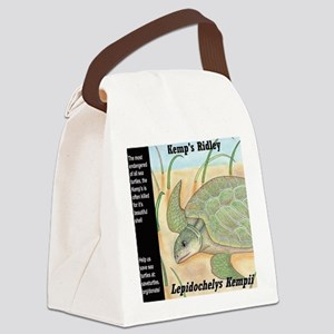 Sea Turtle Kemp's Ridley Canvas Lunch Bag