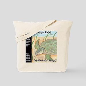 Sea Turtle Kemp's Ridley Tote Bag