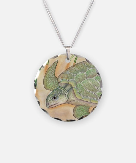 Sea Turtle Kemp's Ridley Necklace