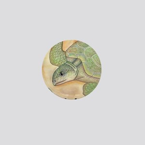 Sea Turtle Kemp's Ridley Mini Button