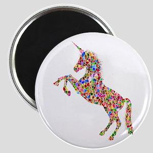 Prismatic Rainbow Unicorn Magnets