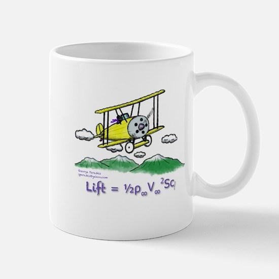 Mug ( Biplane & Lift Equation )