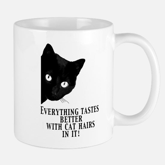 Unique Black cats rule Mug