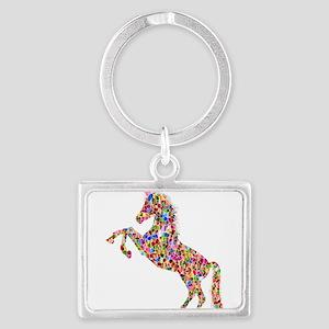 Prismatic Rainbow Unicorn Keychains