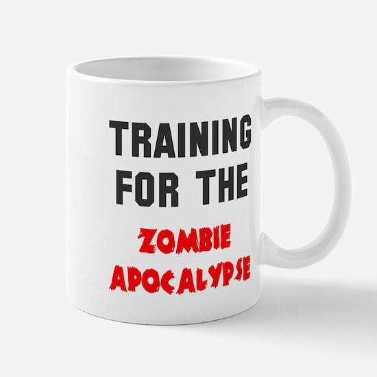 Training zombie apocalypse Mug