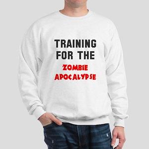 Training zombie apocalypse Sweatshirt