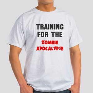 Training zombie apocalypse Light T-Shirt