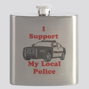 Support Local Police Flask