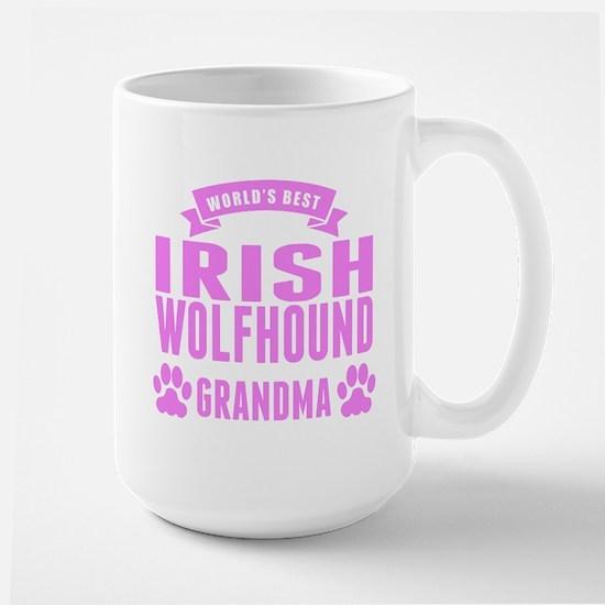 Worlds Best Irish Wolfhound Grandma Mugs