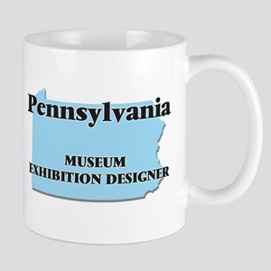 Pennsylvania Museum Exhibition Designer Mugs