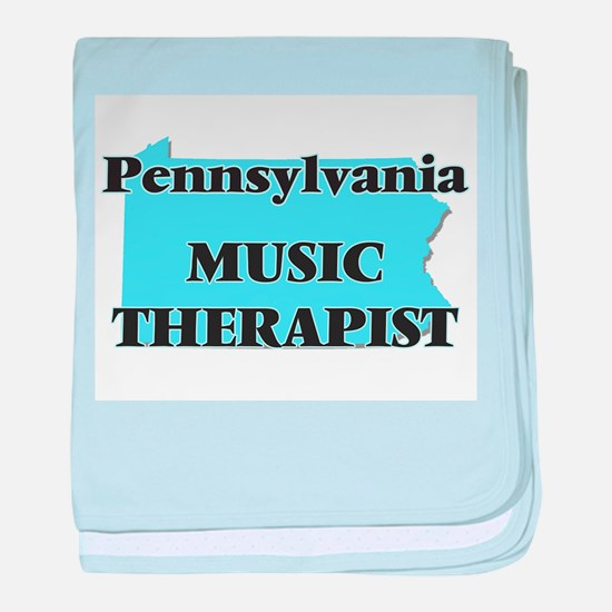 Pennsylvania Music Therapist baby blanket