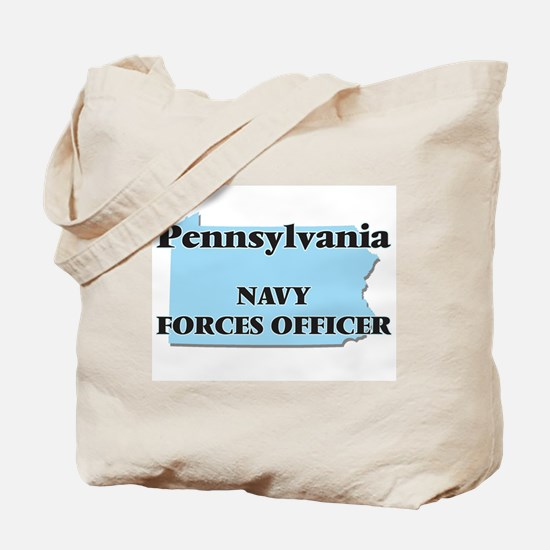 Pennsylvania Navy Forces Officer Tote Bag