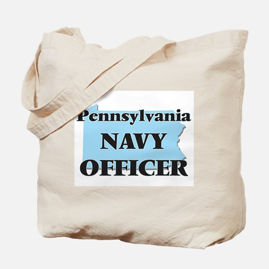 Pennsylvania Navy Officer Tote Bag