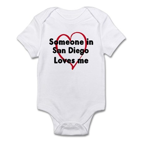 Loves me: San Diego Infant Bodysuit