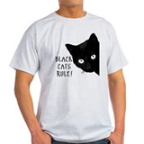 Black cat T-Shirts