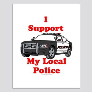 Support Local Police Posters