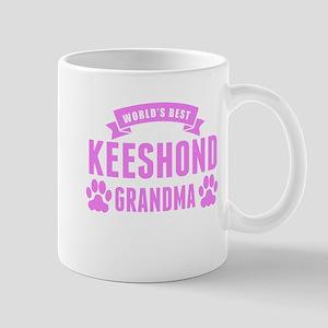 Worlds Best Keeshond Grandma Mugs