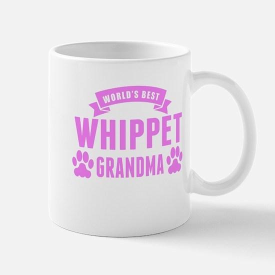 Worlds Best Whippet Grandma Mugs