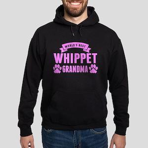 Worlds Best Whippet Grandma Hoodie