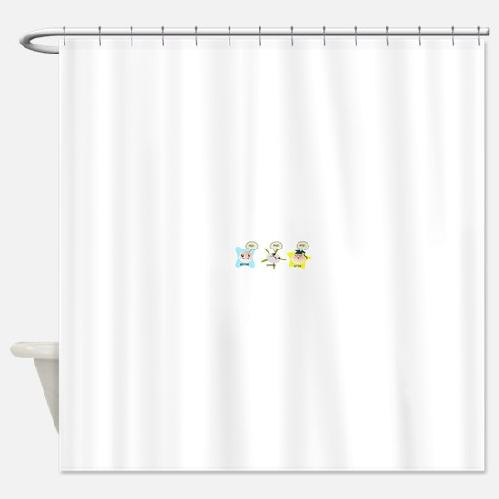 PhD student process Shower Curtain