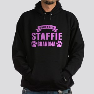 Worlds Best Staffie Grandma Hoodie