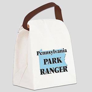 Pennsylvania Park Ranger Canvas Lunch Bag