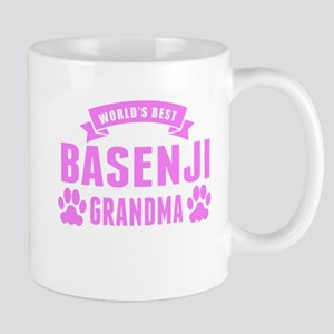 Worlds Best Basenji Grandma Mugs