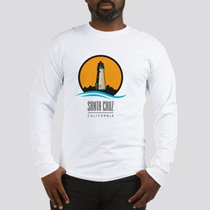 Santa Cruz California CA Light Long Sleeve T-Shirt