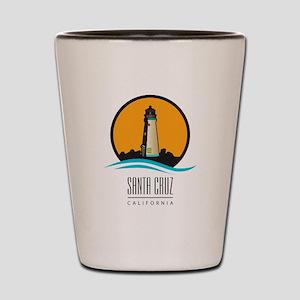 Santa Cruz California CA Light House Shot Glass