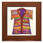 Joseph's Coat Framed Tile