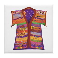 Joseph's Coat Tile Coaster