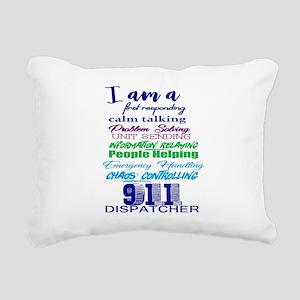 911 DISPATCHER Rectangular Canvas Pillow