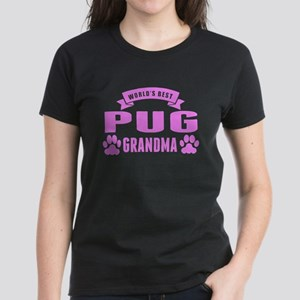 Worlds Best Pug Grandma T-Shirt