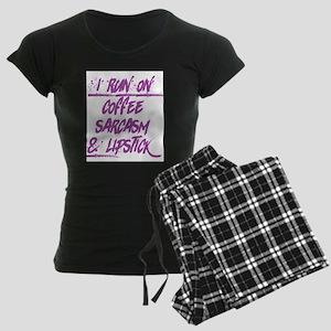 coffee sarcasm & lipstick Pajamas