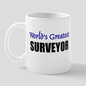 Worlds Greatest SURVEYOR Mug