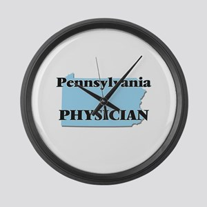 Pennsylvania Physician Large Wall Clock