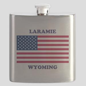 Laramie Wyoming Flask