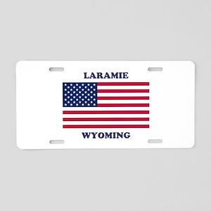 Laramie Wyoming Aluminum License Plate
