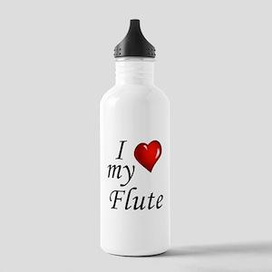 I Love my Flute Water Bottle