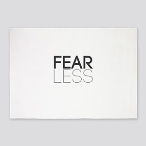 Be Fearless, Fear Less 5'x7'Area Rug