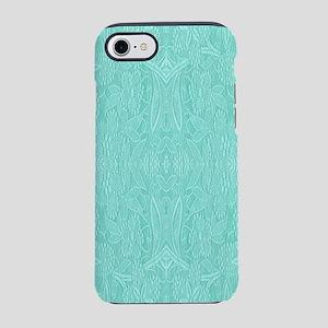 Mint Green Print iPhone 8/7 Tough Case