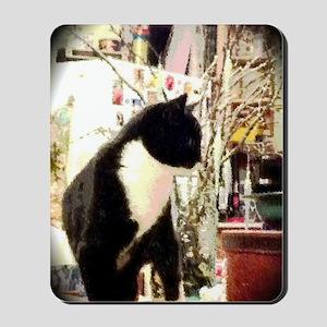 Kitty Christmas Mousepad