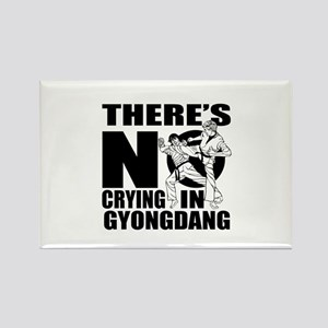 There Is No Crying In Gyongdang Rectangle Magnet