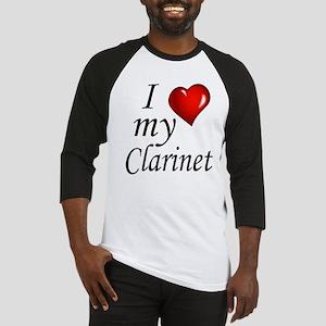 I Love my clarinet Baseball Jersey