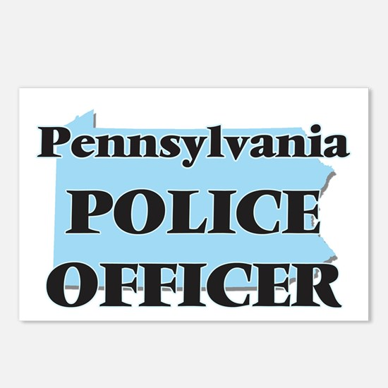 Pennsylvania Police Offic Postcards (Package of 8)