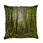 magical trail scene Everyday Pillow