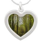 magical trail scene Necklaces